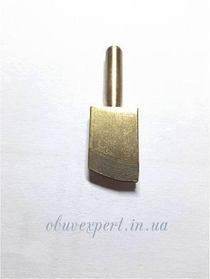 Насадка для паяльника латунная П-образной формы 2 мм для обработки уреза, фото 2