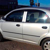 COBRA TUNING Дефлекторы окон на Chery Jaggi (QQ6) '06-10 (накладные), фото 1