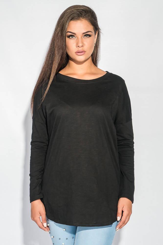 Джемпер женский удлиненный 953K003 (Черный)