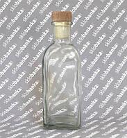Бутылка стеклянная Фраска 0,5 л с пробкой в комплекте