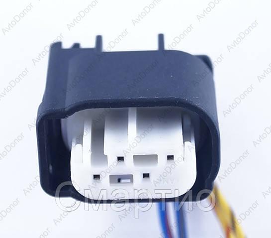 Разъем электрический 4-х контактный (16-9) б/у 968913-1