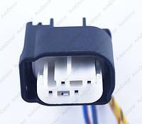 Разъем электрический 4-х контактный (16-9) б/у 968913-1, фото 1