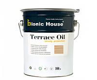 Масло для терасс Bionic-House 10л Белый