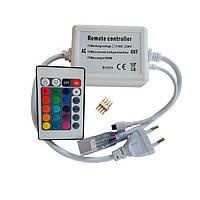 600W-IR-24 RGB контроллер для ленты 220В с ИК пультом д/у.
