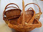 Подарункові плетені кошики на подарунки оптом