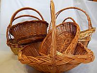 Подарочные плетеные корзины оптом на подарки