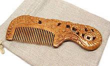 Расческа сандаловая для волос Сокровища моря