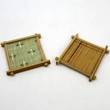 Бамбуковая подставка под горячее набор 5 шт