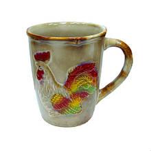 Кружка из керамики Петух