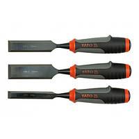 Стамески с полимерными ручками b = 16-25-32 мм, YATO YT-6280