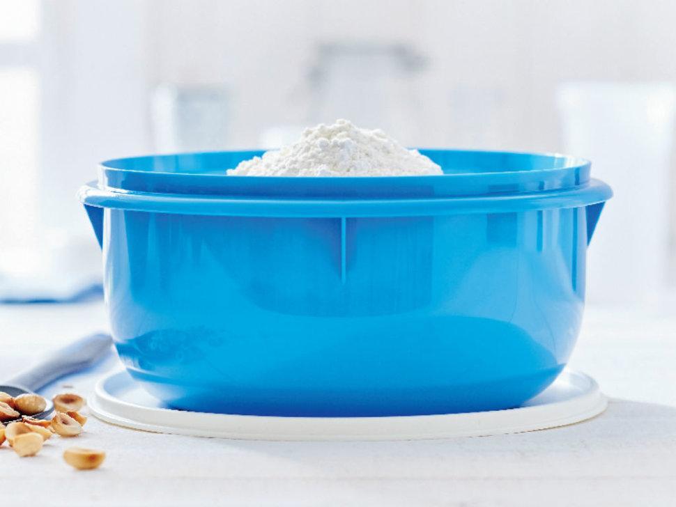Замесочное блюдо 3 л Tupperware в голубом цвете