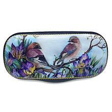 Чехол для очков Цветы и Птицы