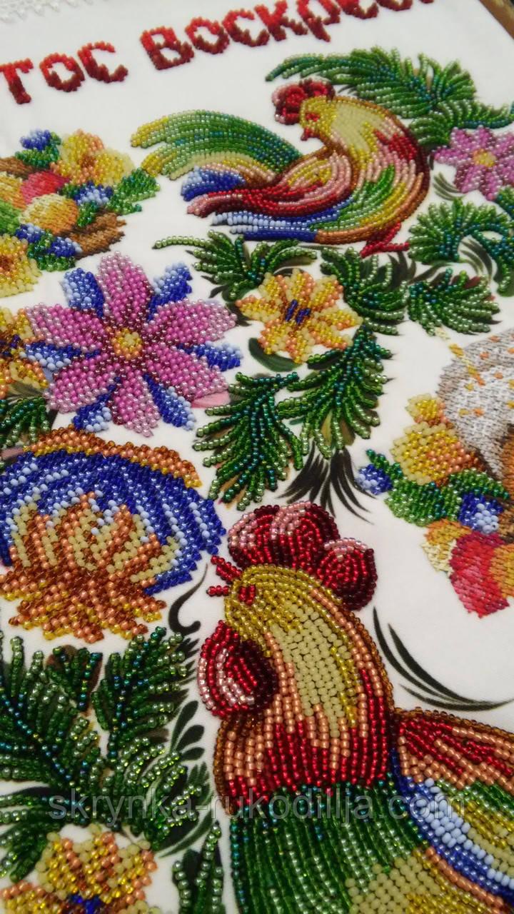 Великодній рушник заготовка для вишивки бісером  продажа 335801c556085