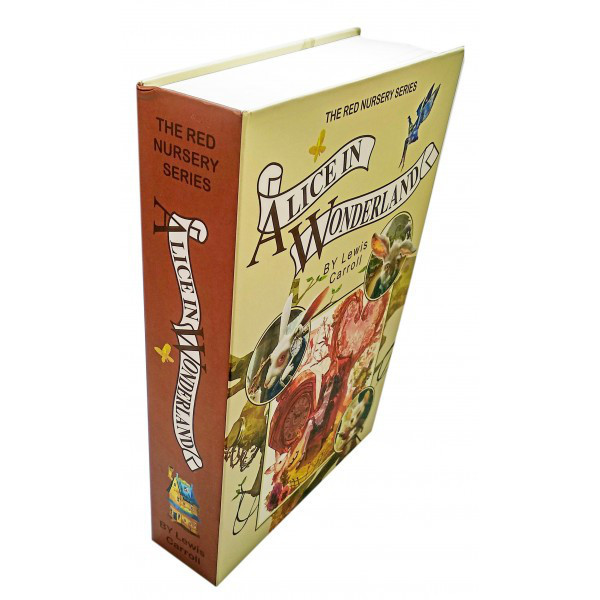 Книга-сейф для хранения Алиса в стране чудес