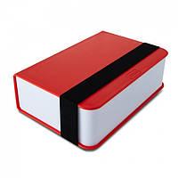Ланчбокс прямоугольный Book Black+Blum (красный), фото 1
