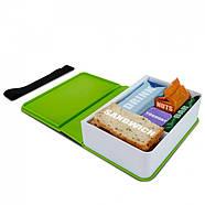 Ланчбокс прямоугольный Book Black+Blum (зеленый), фото 2