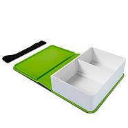 Ланчбокс прямоугольный Book Black+Blum (зеленый), фото 3