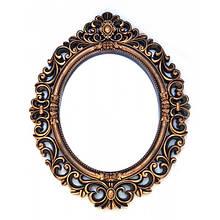 Настенное зеркало из металла