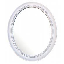 Настенное зеркало овальное из металла