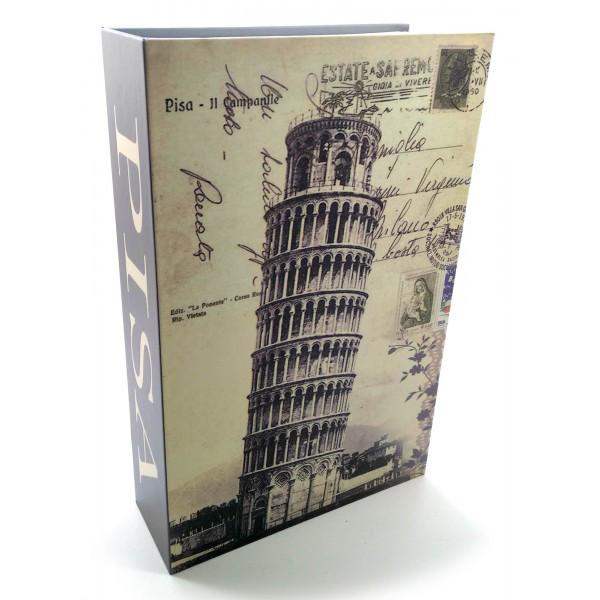 Книга-сейф из металла для хранения