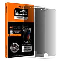 Защитное стекло Spigen анти-шпион для iPhone 8 Plus / 7 Plus, 2шт (043GL22337), фото 1