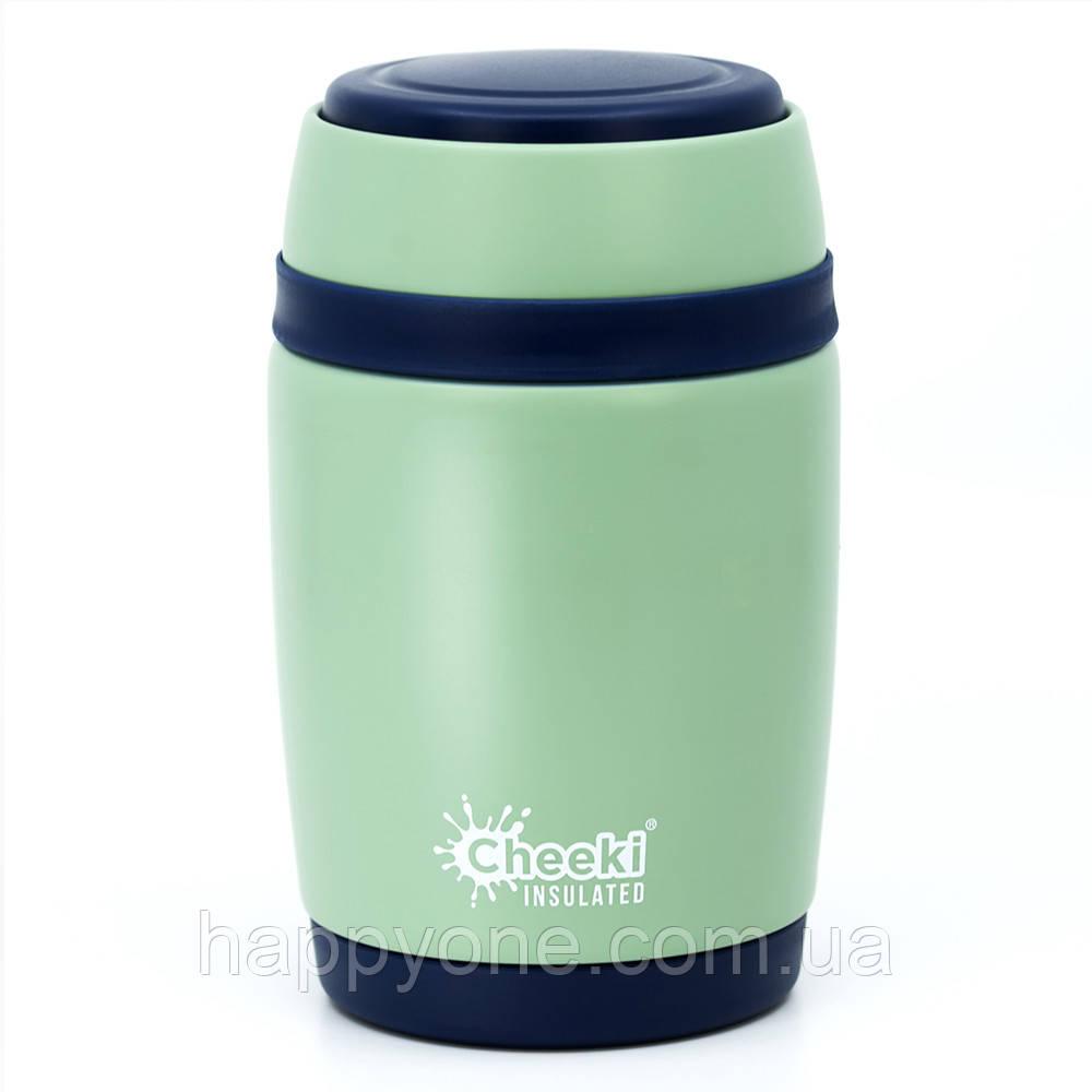 Термос для еды Cheeki Food Jar Pistachio (480 мл)