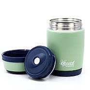 Термос для еды Cheeki Food Jar Pistachio (480 мл), фото 2