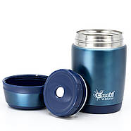 Термос для еды Cheeki Food Jar Blue (480 мл), фото 2