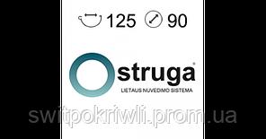 Водосточные системы Struga, Муфта жёлоба двойная, фото 2