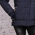 Женская куртка с экомехом на зиму модель 2019 - (модель кт-356), фото 2