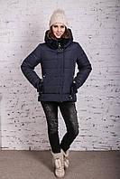 Женская куртка с экомехом на зиму модель 2019 - (модель кт-356), фото 1