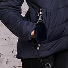 Женская куртка с экомехом на зиму модель 2019 - (модель кт-356), фото 3