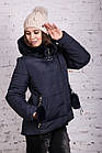 Женская куртка с экомехом на зиму модель 2019 - (модель кт-356), фото 4