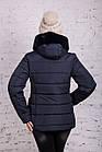 Женская куртка с экомехом на зиму модель 2019 - (модель кт-356), фото 5