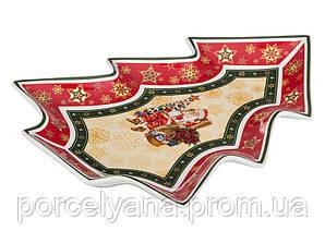 Блюдо елочка 26 см Christmas Lefard