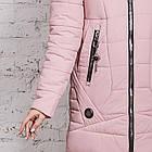 Женское пальто с экомехом зима 2019 - (модель кт-361), фото 3