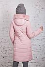 Женское пальто с экомехом зима 2019 - (модель кт-361), фото 4