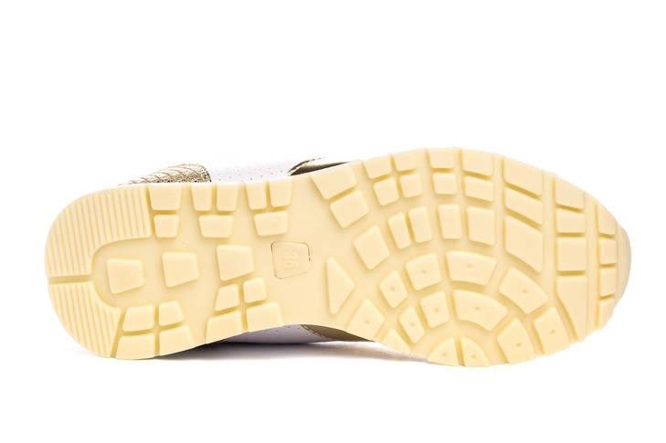 Кросівки жіночі Pretty white gold 39, фото 3