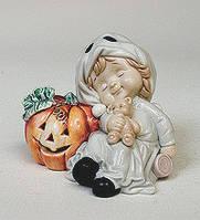 """Порцелянова статуетка """"Halloween"""" дівчинка (Pavone) JP-11/12"""