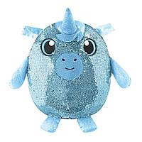 Мягкая игрушка с пайетками  УДИВИТЕЛЬНЫЙ ЕДИНОРОГ Shimmeez SMZ01004