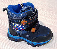 Ботинки зимние для мальчика ТМ Солнце  РТ6303-В, фото 1