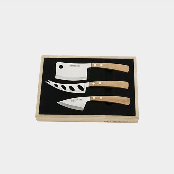 Набор ножей для сыра Legnoart 3 шт CK-10B