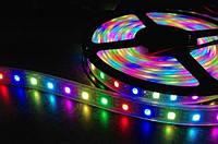 Светодиодная лента RGB 5050 3 цвета 5м 300 диодов. , фото 1