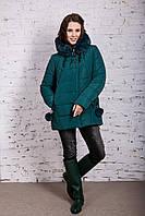 Зимняя куртка с экомехом для женщин модель 2019 - (модель кт-385), фото 1