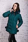 Зимняя куртка с экомехом для женщин модель 2019 - (модель кт-385), фото 2