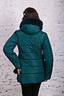 Зимняя куртка с экомехом для женщин модель 2019 - (модель кт-385), фото 3