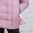 Зимняя куртка с экомехом для женщин модель 2019 - (модель кт-385), фото 4