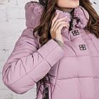 Зимняя куртка с экомехом для женщин модель 2019 - (модель кт-385), фото 6