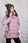 Зимняя куртка с экомехом для женщин модель 2019 - (модель кт-385), фото 7