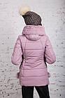 Зимняя куртка с экомехом для женщин модель 2019 - (модель кт-385), фото 8